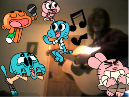 Singing with the Wattersons by BillyBCreationz