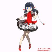 Marinette Magica by suicunespurr
