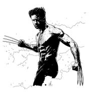 Wolverine - Howlett by LRitchieART