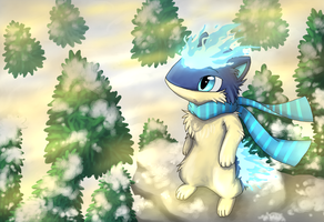 Point Commission: Dandy The Quilava by Eevora