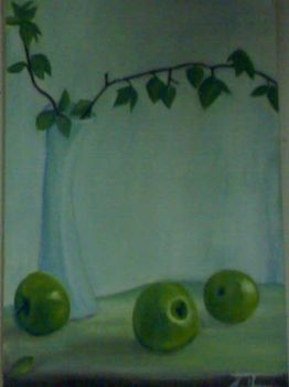 College painting..1st plate by fullmetalx0012