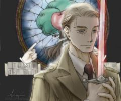 GO: Aziraphale by noxcape