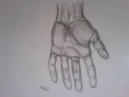 Hand scetch by Salvados