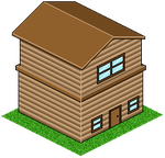 Crappy Pixel House by HomeyGGothess