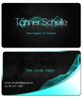 Tanner Schelle Business Card by Marczsewski