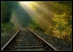 Tracks to the light 4 by wienwal