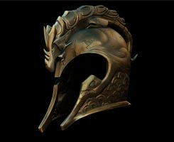 Dragon-Helm Of Dor-Lomin by GTMais