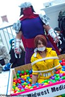 Katsucon 2015 - Shredder's Ballpit of Evil! by VideoGameStupid