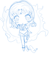 chibi sailor sun by TimelessReference
