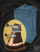 The Eighth Doctor Dalek by MeghanMurphy