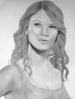Taylor Swift by Thessa-drawings