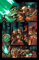 Pathfinder Goblins #1 page by deffectx