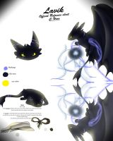 Lavik (Official Reference Sheet) by Crystalizedhero