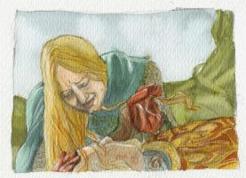 Death of Theoden by crisurdiales