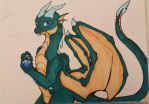 Emerald Dragon: Look But No Touch by rosey996