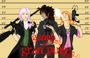 Gangs of Gran Pulse: The Girls by suzui