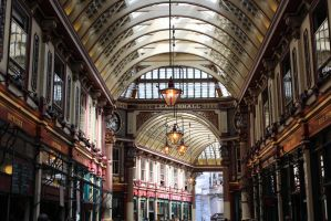 Leadenhall Market by Evely-Hollen