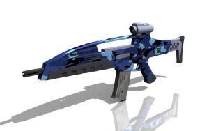 XM8 Blue by AlphaMike1