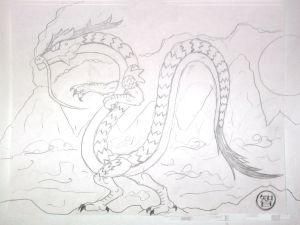 Lava Dragon 2nd try pencilz0r