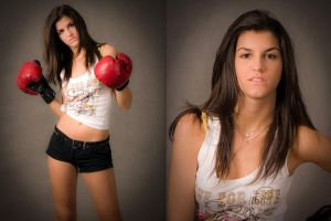 Boxing Girl - 02 by Przemo80