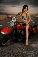 Bikini Biker by Holly-D