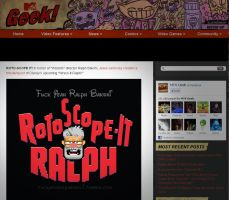 Wreck It Ralph Rotoscope It Ralph on Mtv Geek by jeaux