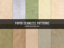 Free Paper Seamless Patterns by xara24
