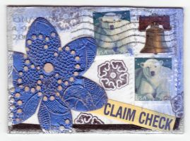 ATC - Blue Letter by motherofthesky