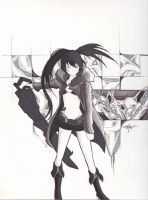 Black Rock Shooter by Precise24