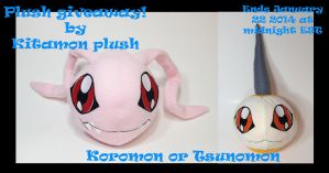 PLUSH GIVEAWAY! WILL END TODAY (JANUARY 23rd 2014) by Kitamon