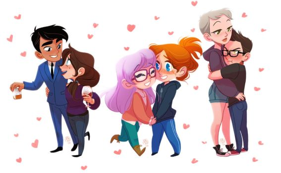Mini Couples  (SALE INFO!) by fydraws
