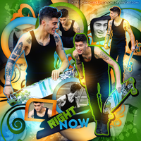 +BLEND: Right Now| El negro Zaynchu~~ by CAMI-CURLES-EDITIONS