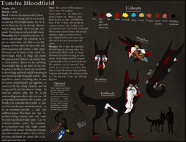 .:Tundra Bloodfield:..:Ref sheet:. by xTheBoss