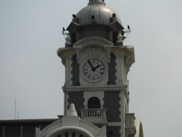 The Railway Clock Tower by SteamRailwayCompany
