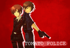 Tomato Police by chienoir
