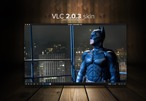 VLC 2.0.4 skin by MathieuBerenguer