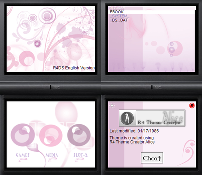 NDS theme: Think Pink by Reameth