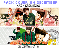 [141213] PACK COVER #4 DECEMBER [ KAI - KRIS ] by HwangBrittany