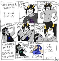 Ooh Mister Gamzee by SilverFlameWolf