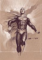 Superman Sketch by Kofee77