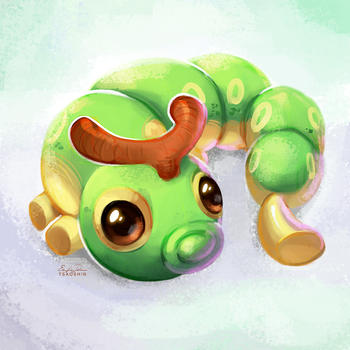 010 - Caterpie by TsaoShin