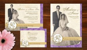 50th Wedding Anniversary Material by charz81
