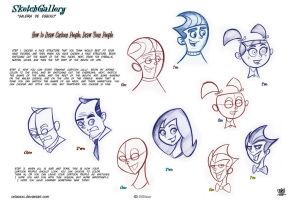 How to Draw Cartoon People Draw Toon People by celaoxxx
