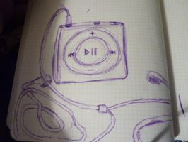ipod by AnimatedSquirrel