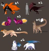 Massive Adoptables Sheet Auctions 2 - CLOSED by Karijn-s-Basement