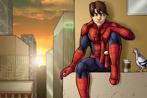 Spider-man: Skyline by TravisTheGeek