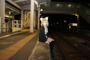 At the station by saiko-jp