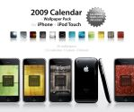 2009 Calendar + Wallpaper Pack by GeorgeHarrison
