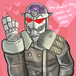 Belated Valentines card by SWONDL