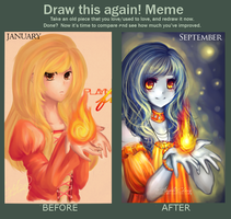 Draw This Again Meme by xaiisu